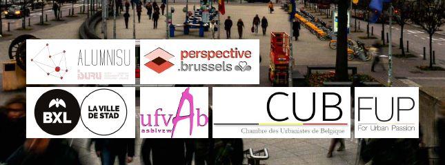 Alumnisu - Perspective Bruxelles - Bruxelles Villes - UfvAb (Union des Femmes Architectes de Belgique) - CUB (Chambre des Urbanistes de Belgique) - FUP (For Urban Passion)